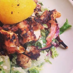 how to cook grilled octopus greek style