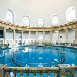 Piscines de Nancy-Thermal, Nancy, Meurthe-et-Moselle, France