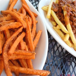 Sweet Yam Fries & Chili Fries!