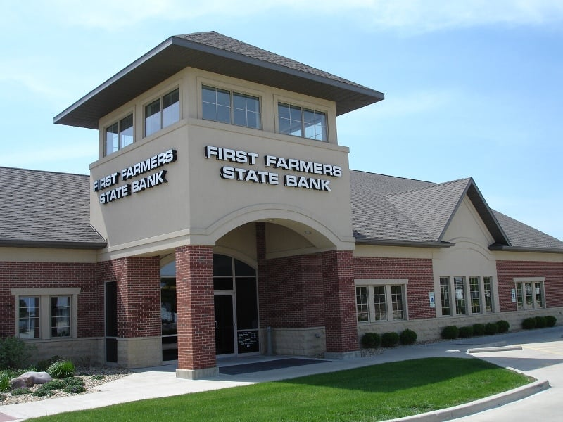 Bloomington (IL) United States  City new picture : State Bank Bloomington, IL, United States. First Farmers State ...