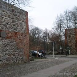 Neujahr 2014 Stadtmauer Bernau
