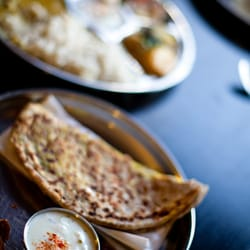 Chapatti & chutneys