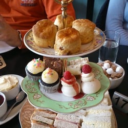 Enjoyable afternoon tea
