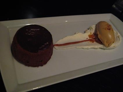 Dessert Chocolate Lava Cake Chocolate Molten Lava Cake w/