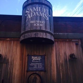 Sam Adams Brewery Tour Yelp