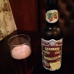 Raspberry fruit beer