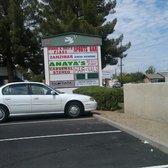Anayas Fresh Mexican Restaurant - Anaya's street sign - Glendale, AZ, United States