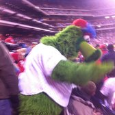 Citizens Bank Park - Philadelphia, PA, États-Unis. The greatest mascot in sports!