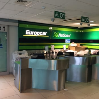 Europcar London Heathrow Airport car rental station - Middlesex, London, United Kingdom