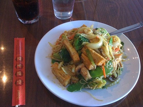 Green Sprout - Stir-fried Rice Noodles with Curry Sauce (Scratch the ...