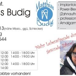 Zahnarzt  Dr. Matthias Budig Würzburg, Würzburg, Bayern