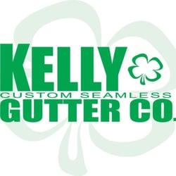 Kelly Custom Seamless Gutter Company logo