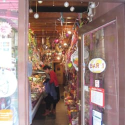 the hanging candy store