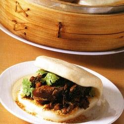 "Taiwanese pork bun ""tiger-eat-pig"""