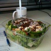 Yummy.com - Greek salad with chicken - Los Angeles, CA, Vereinigte Staaten