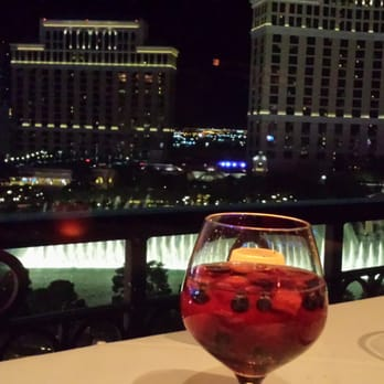 Eiffel Tower Restaurant View From Our Table Las Vegas NV United States