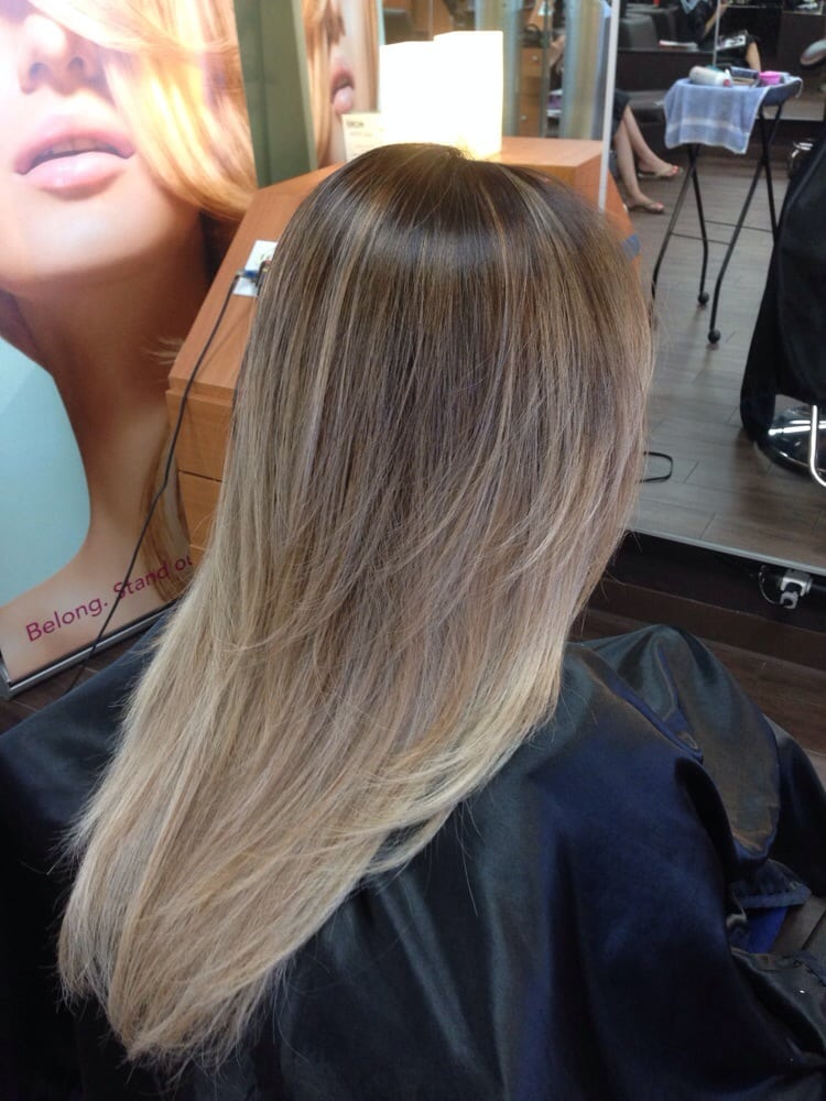 Ash Brown Hair With Platinum Highlights