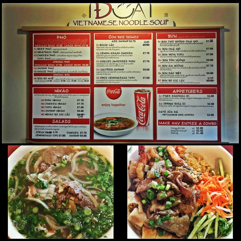 Dua vietnamese 83 foto cucina vietnamita downtown for Z cucina menu