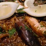 Paella, €13.55+.