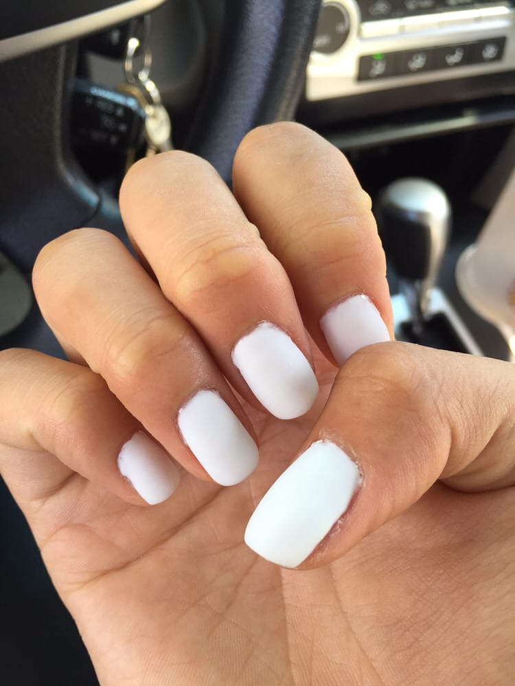 White acrylic powder for nails – Great photo blog about manicure 2017