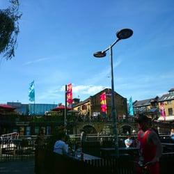 Camden Lock in the sun