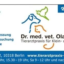 Dr. med. vet. M. Sc. Olaf Kuntze, Berlin