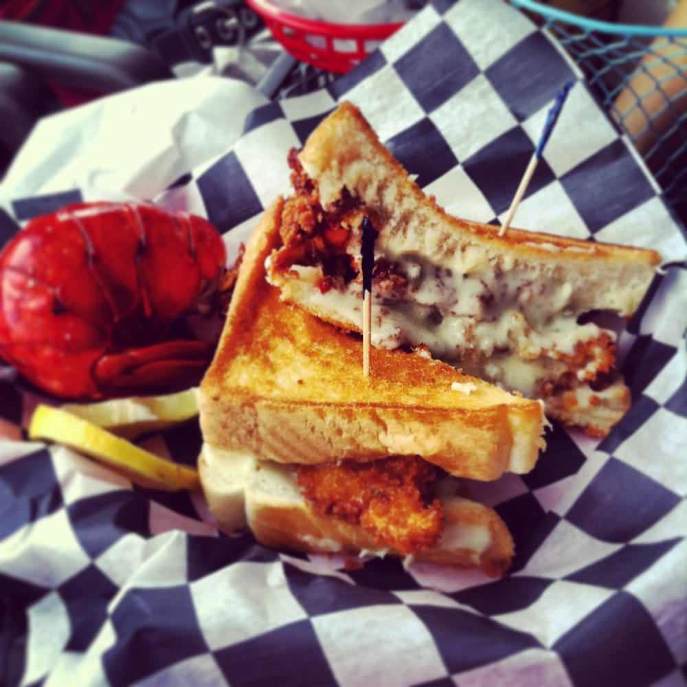 Grilled Cheese Crab Cake Murrells Inlet Sc
