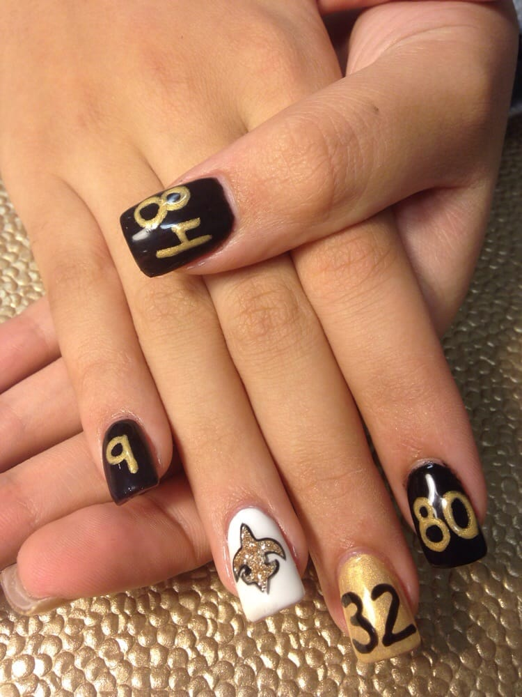 Saints Nails