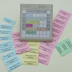 Tastatur mit Artikelschriftung und…