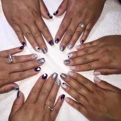 Nails & Spa - Liberty, MO, United States. Nails done by Lily and