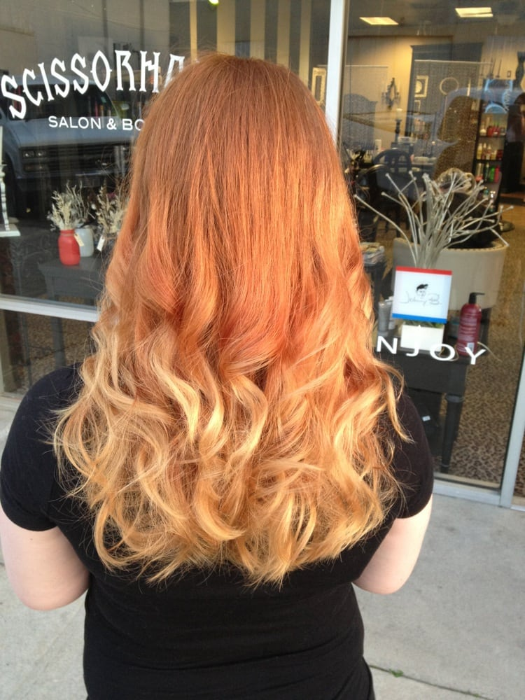 Strawberry Blonde Ombre By Samantha Yelp