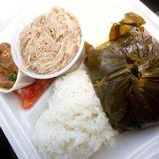 Koloa Fish Market - Lunch plate! YUMMY! - Koloa, HI, Vereinigte Staaten