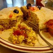 Gj's Family Restaurant - Super Burrito breakfast - Eugene, OR, Vereinigte Staaten