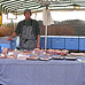Stallholder at Roath