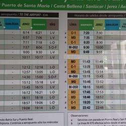 Schedule for transportation