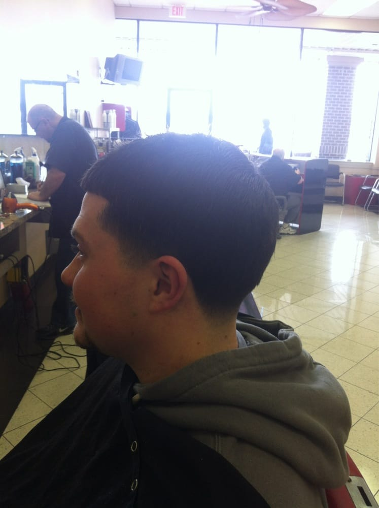 Norristown (PA) United States  city pictures gallery : Vacante's Barber Shop Norristown, PA, United States. Bald taper