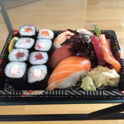 Take away fish assortment sushi, so…
