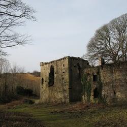 Candleston Castle, Merthyr Mawr, sand…