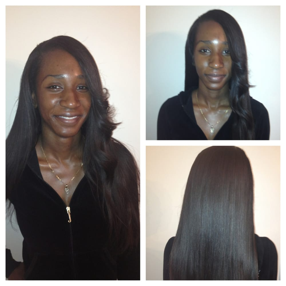 Hair Naturally Parts Side Hair is Natural Side Part