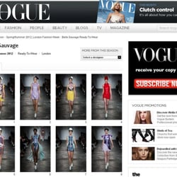 catwalk images on vogue.co.uk