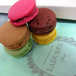 fantastic macarons | cherry blossom, milk chocolate, pistachio, Ghana chocolate, lemon