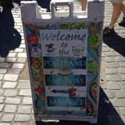 Portland Saturday Market - Portland, OR, États-Unis. Sign