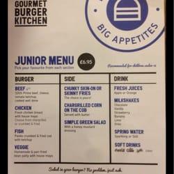 Gourmet Burger Kitchen Notting Hill London United