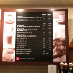 Arclight Cinema Cafe Menu