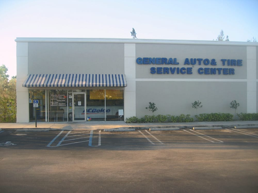 general auto service center tyres coral springs fl