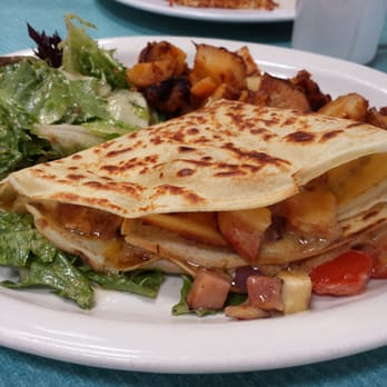Chicken Cordon Bleu Crepe! Delicious!