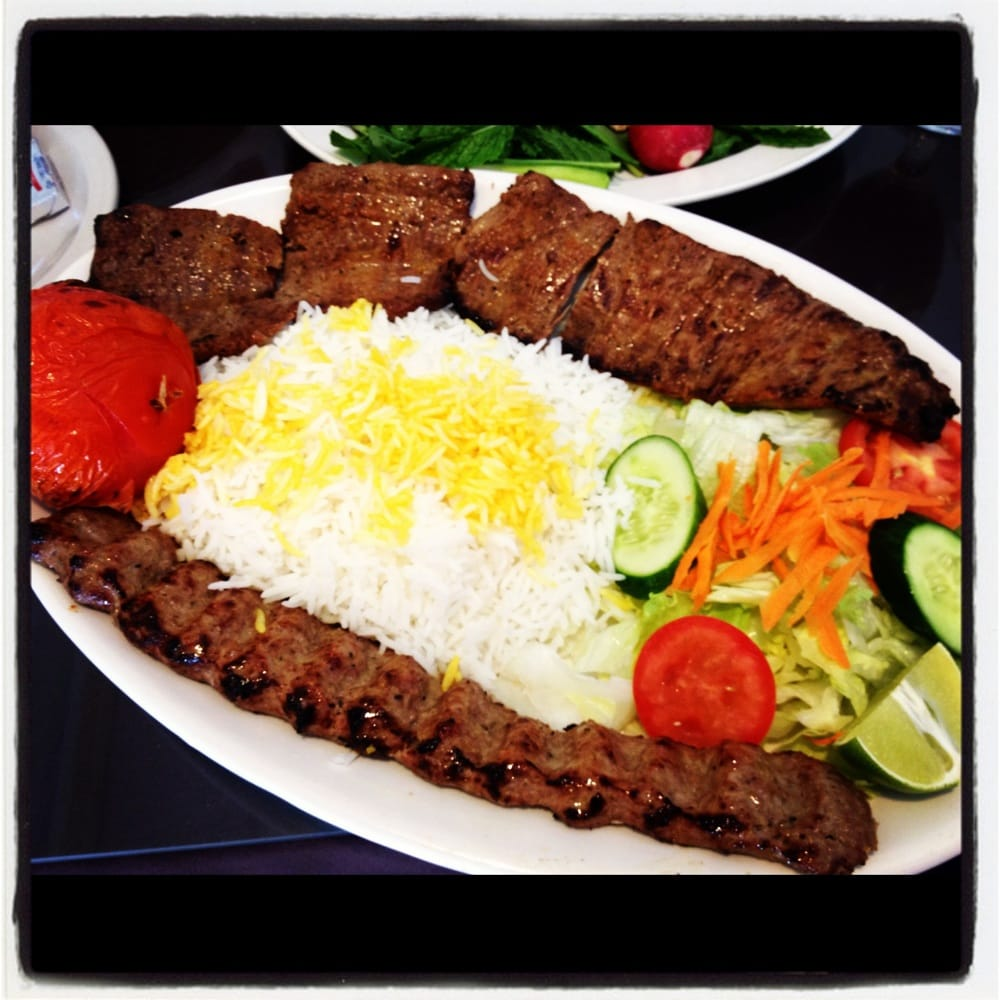 Delicious koobideh polo persian food yelp for Alborz persian cuisine