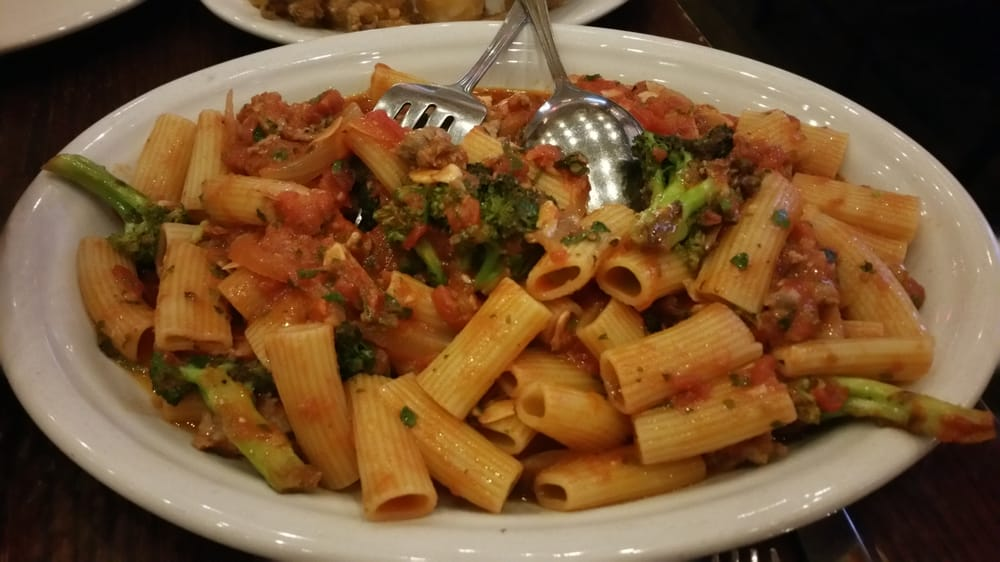 ... Las Vegas, NV, United States. Rigatoni with Sausage and Broccoli