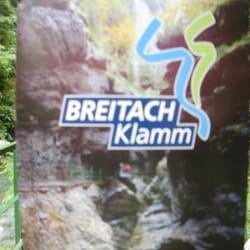Breitachklamm, Oberstdorf, Bayern