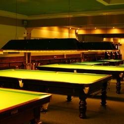 Blick in den Snookerbereich